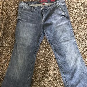 Banana Republic Limited Edition wide leg jeans